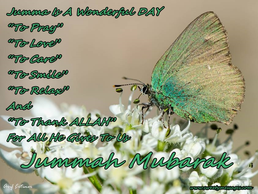 Jummah kareem messages beautiful messages jumma is a wonderful day to pray to love to care m4hsunfo
