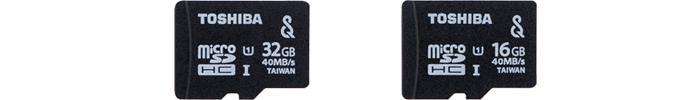 東芝「MU-SV」は、2013年発売のSeeQVault対応microSDカード