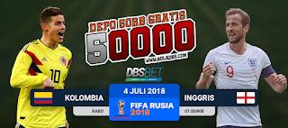 kolombia vs inggris piala dunia 4 juli 2018