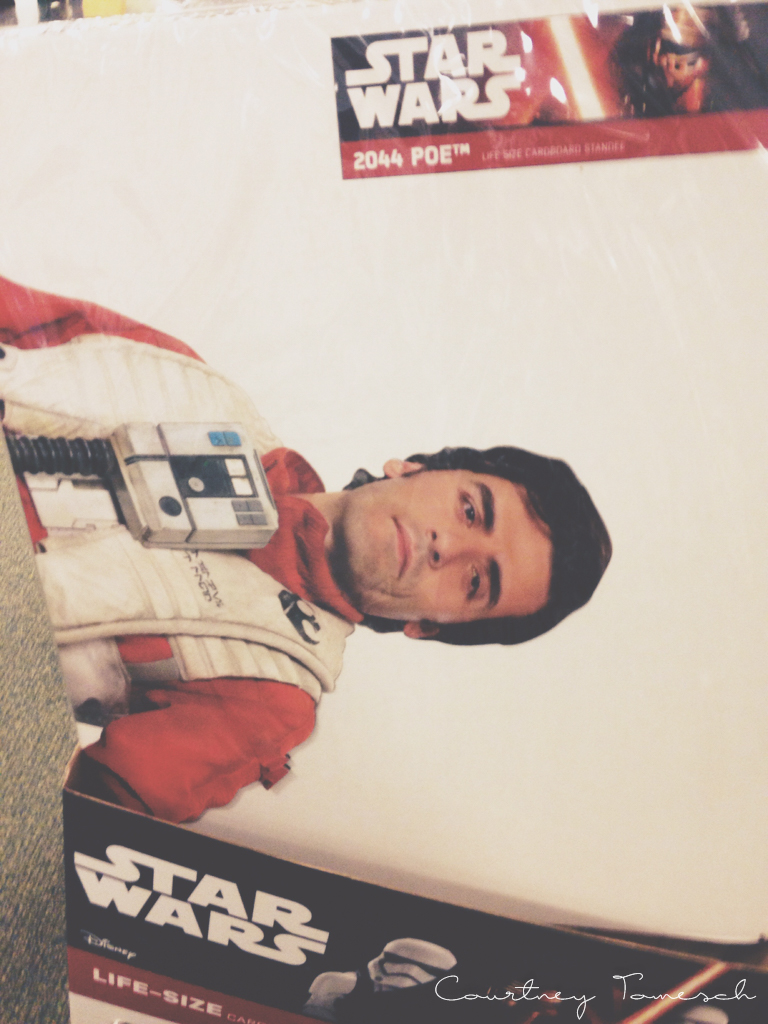 Courtney Tomesch Poe Dameron Life-size cutout
