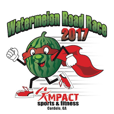 2017 Watermelon Road Race logo