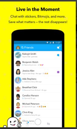 Aplikasi Chat Terbaru Selain Whatsapp Snapchat Apk