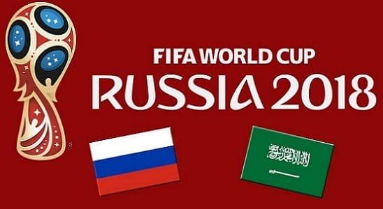 تشكيل السعودية وروسيا  في مباراة افتتاح كأس العالم 2018