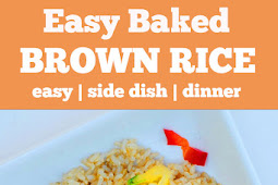 Easy Baked Brown Rice Recipe