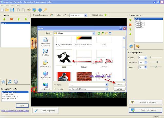 تحميل برنامج Animated Screensaver Maker لعمل الصور 3D ووضعها على شاشة التوقف لجهاز الكمبيوتر برابط مباشر ومجانى