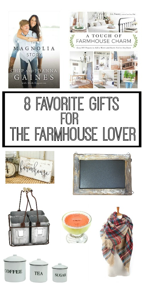 8 Favorite Gifts for the Farmhouse Decor Lover - Gift Guide
