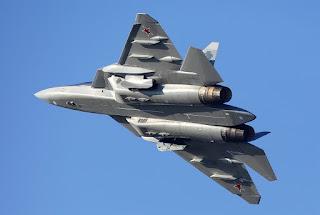 Jet Tempur Su-57 Rusia