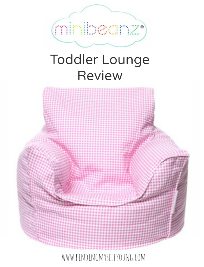 Mini Beanz Toddler Lounge bean bag review on Finding Myself Young