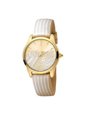 Ceas femei original auriu Just Cavalli Logo JC1L010L0445 reducere