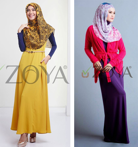 model baju muslim zoya 2017