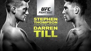 Ver UFC Fight Night 130: Thompson vs Till En vivo gratis 27 de Mayo online