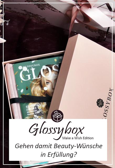 Glossybox Make a Wish Edition November 2018 Unboxing