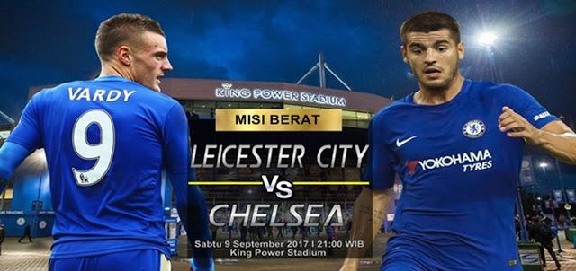 Leicester City vs Chelsea 9 September 2017