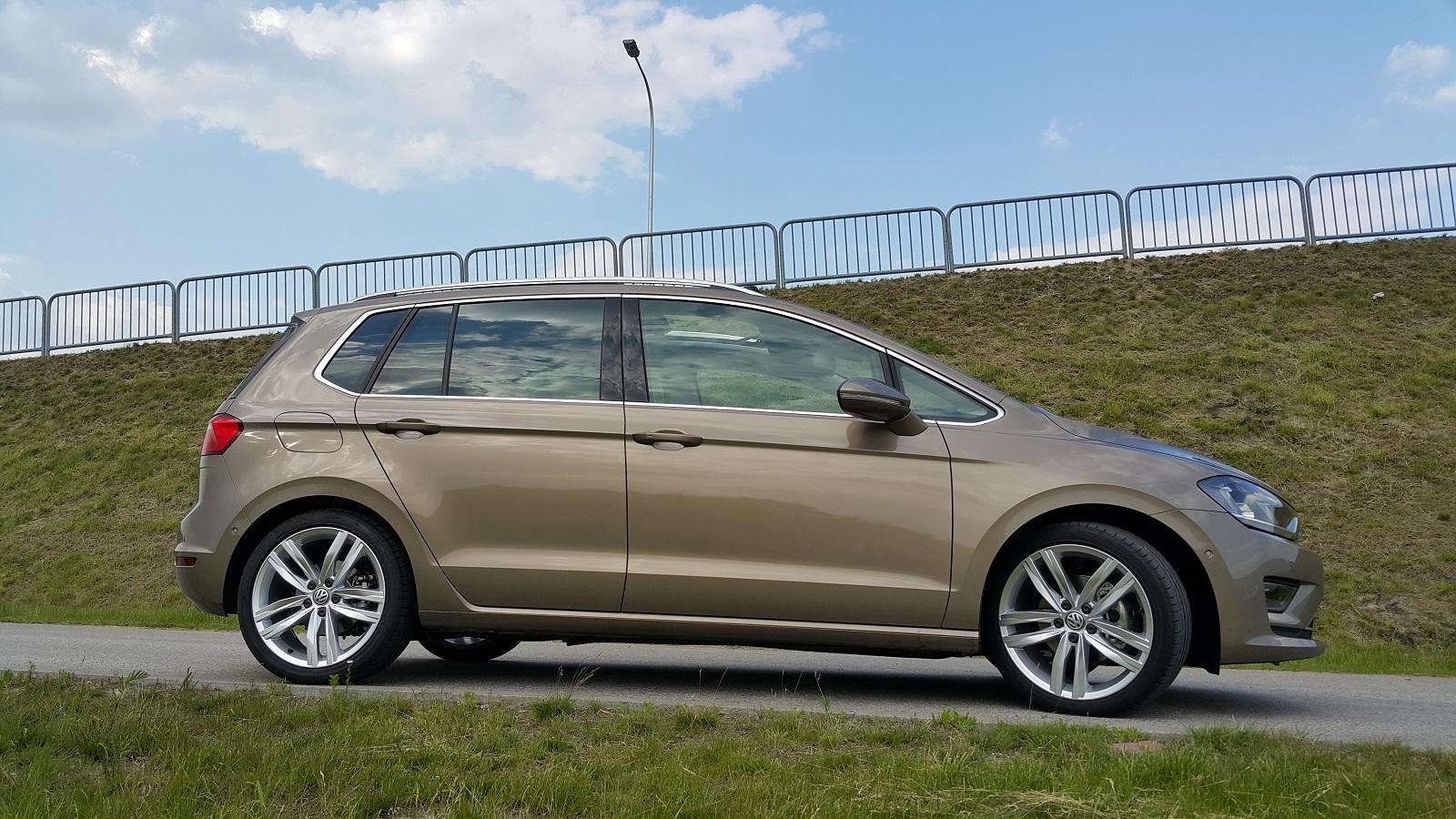 Test Volkswagen Golf Sportsvan 1 4 TSI 150 KM czy w pakiecie