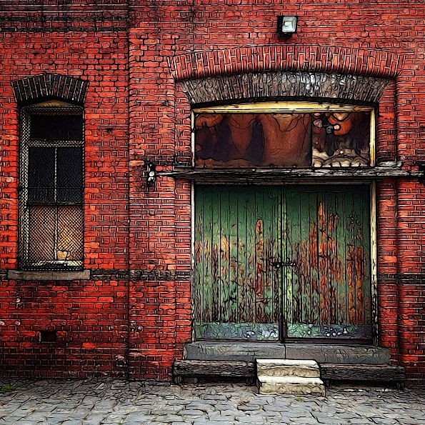 The Green Door © Julie Hollow