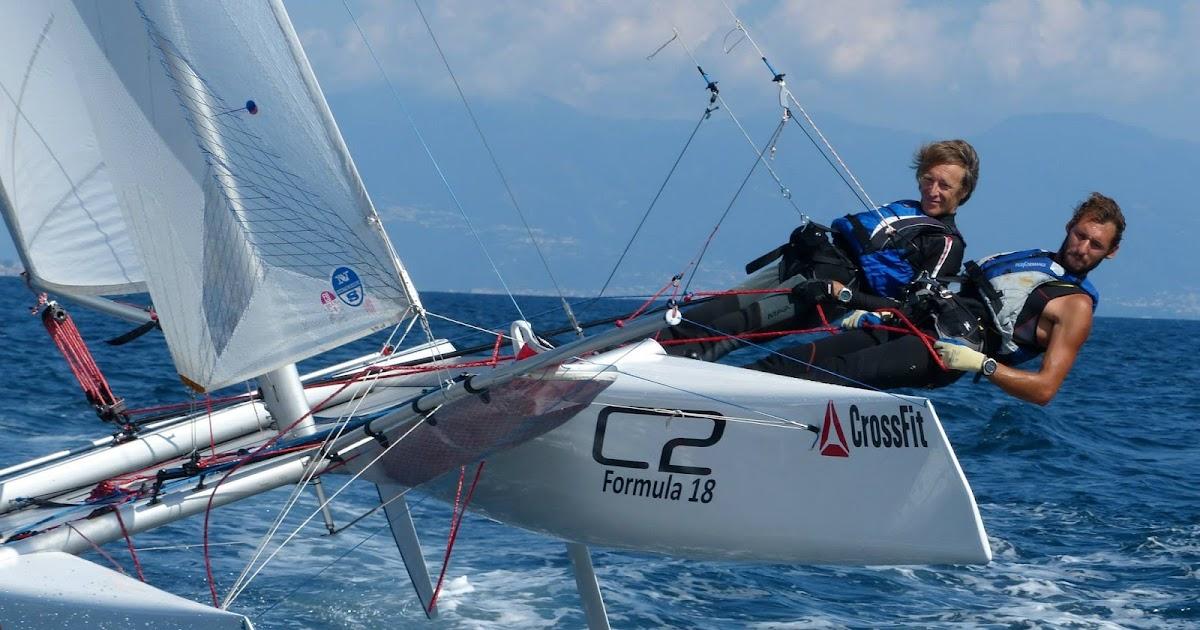 Il Trofeo Sunset di Calambrone per catamarani Formula 18