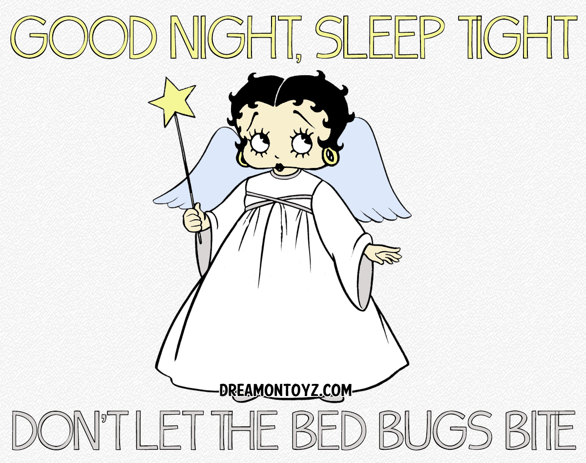 Betty Boop Pictures Archive - Bbpa Betty Boop Good Night -8711
