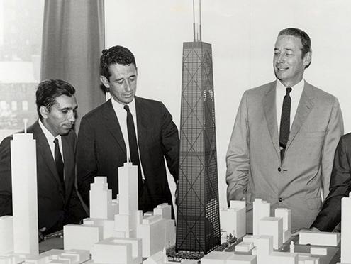 structural-engineer-fazlur-khan-model-john-hancock-center-chicago-bruce-graham-architect-ingeniero-estructural-som-fachada-innovacion-arquitectura-ingenieria-tunel-de-viento-diseno