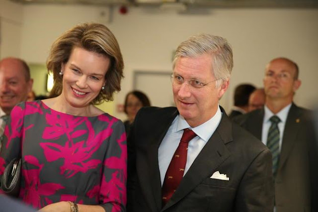 Royal couple to the East-Flanders province, in Ronse,