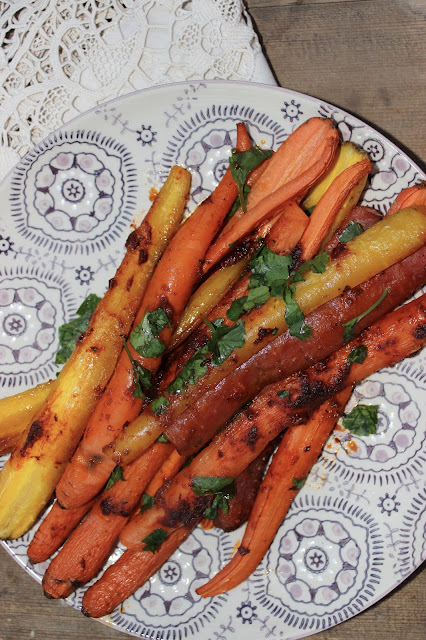 harissa roasted carrots