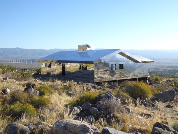Doug Aitken Mirage mirror house Palm Springs
