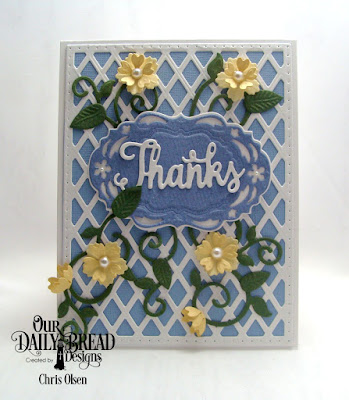 Our Daily Bread Designs, Bitty Blossoms, Fancy Foliage, Lattice Background, Vintage Borders, Vintage Labels, designed by Chris Olsen