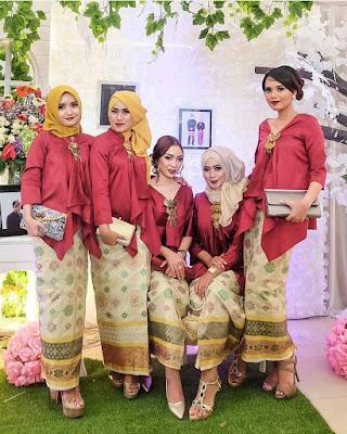Model Kebaya Batik Modern