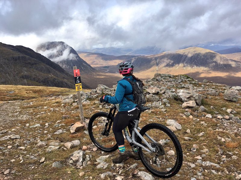 FitBits | Glen Coe mountain biking - 2017 year review - Tess Agnew fitness blogger
