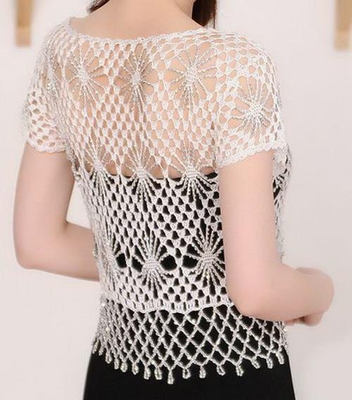 Free Crochet Pattern of Bolero