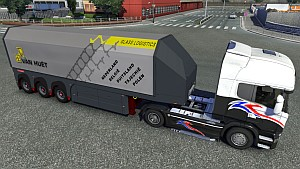 Standalone Van Huët glass trailer mod