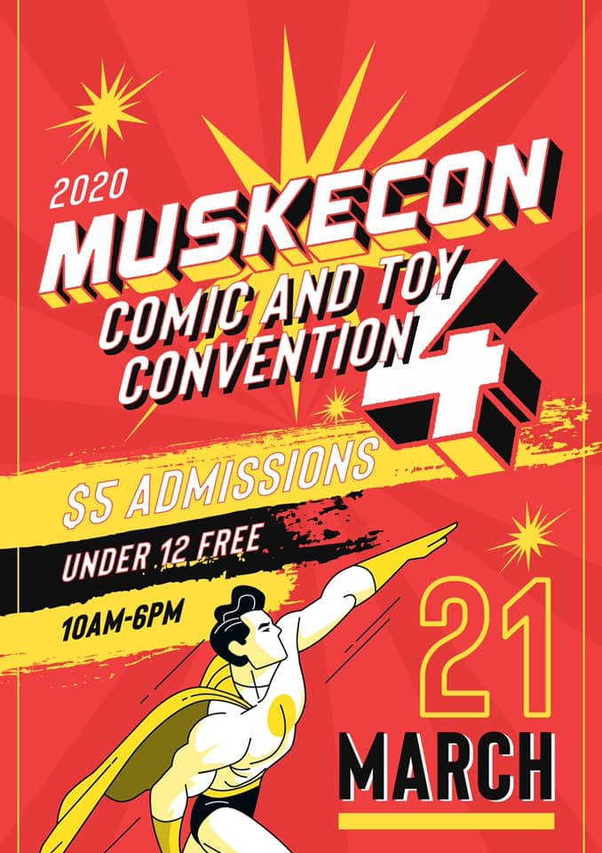 Muskecon 4 - March 21st