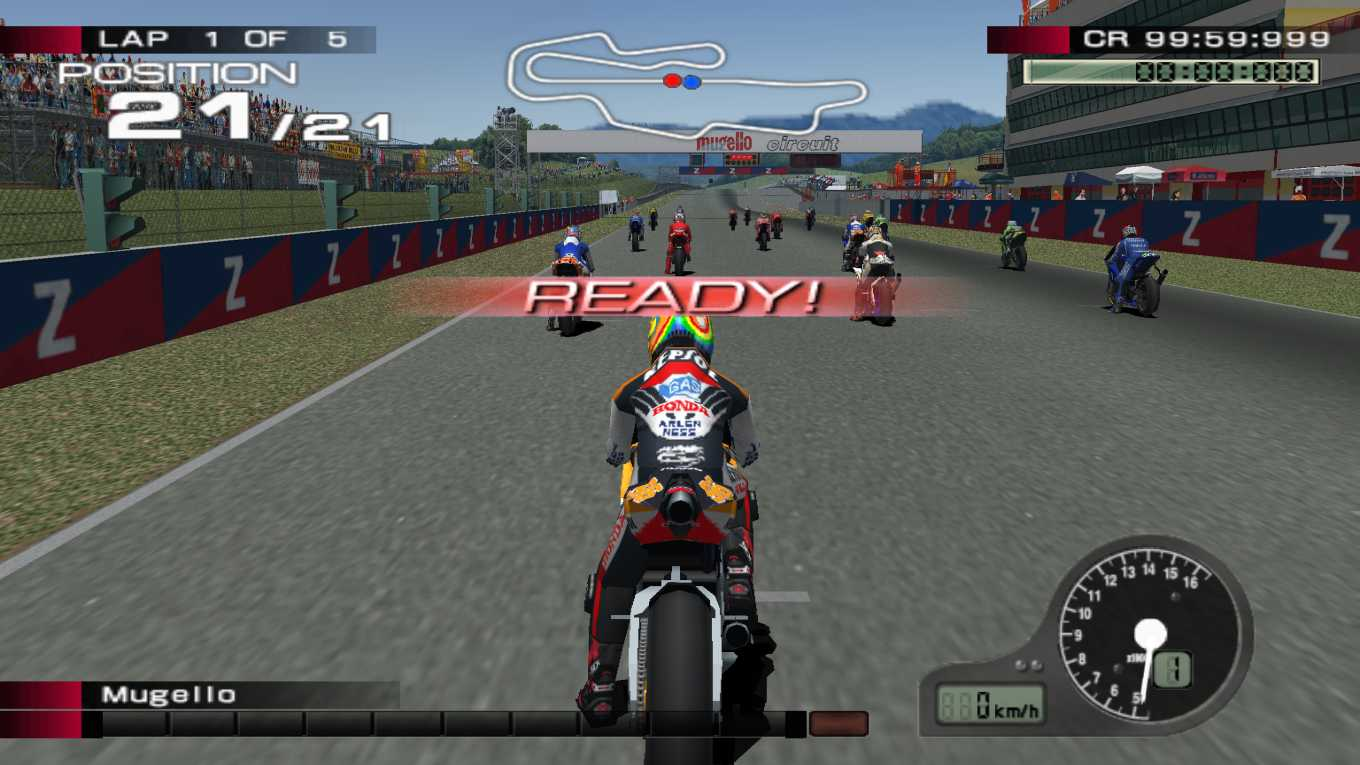 MotoGP 4 ISO PS2 (Playstation 2) For PC - Games INA