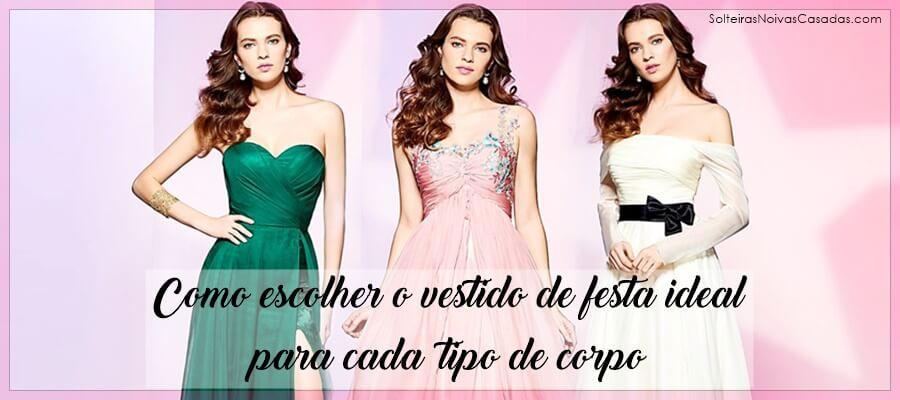 Como escolher o vestido de festa ideal para cada tipo de corpo
