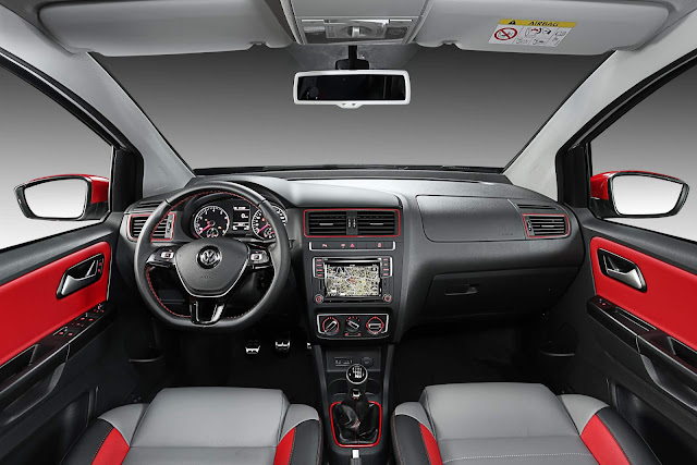 VW Fox 2018 Pepper - interior