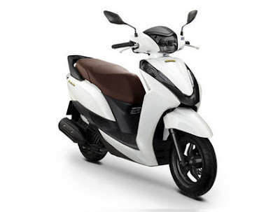 Coming 2016 Honda Lead 125 cc Scooter white color Hd Photos