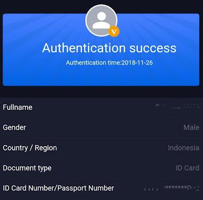 Cara Sukses Verifikasi bcoin Dengan Aplikasi Android