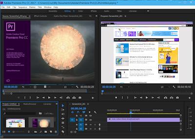 Aplikasi Adobe Premiere Pro CC 2017 Full version Terbaru
