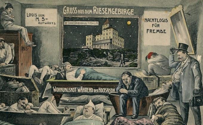 100 lat temu | Dawne schroniska w Sudetach