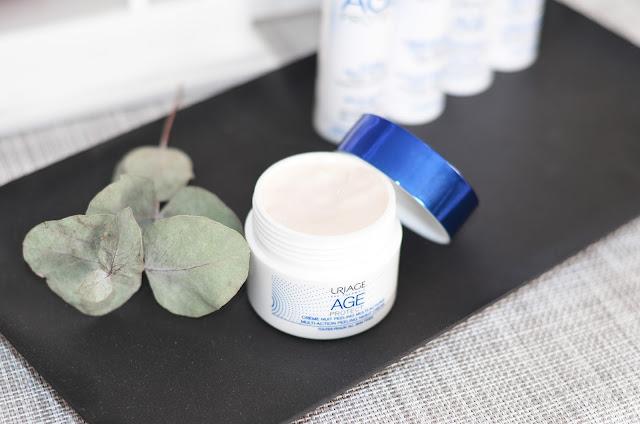 Uriage Age Protect Multi-Action Peeling Night Cream Многофункциональный ночной крем-пилинг