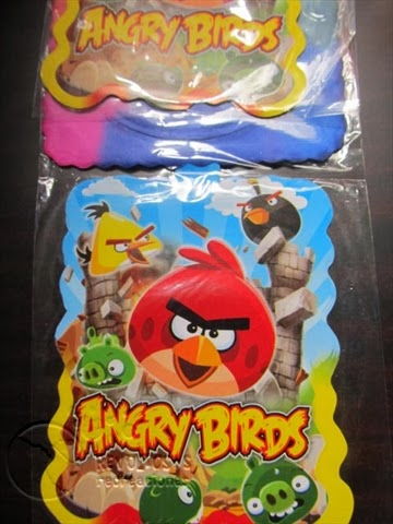 KIT DECORACION FIESTA TEMATICA ANGRY BIRTH