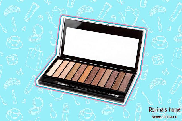 Палетка теней Makeup Revolution Redemption Palette Iconic 1