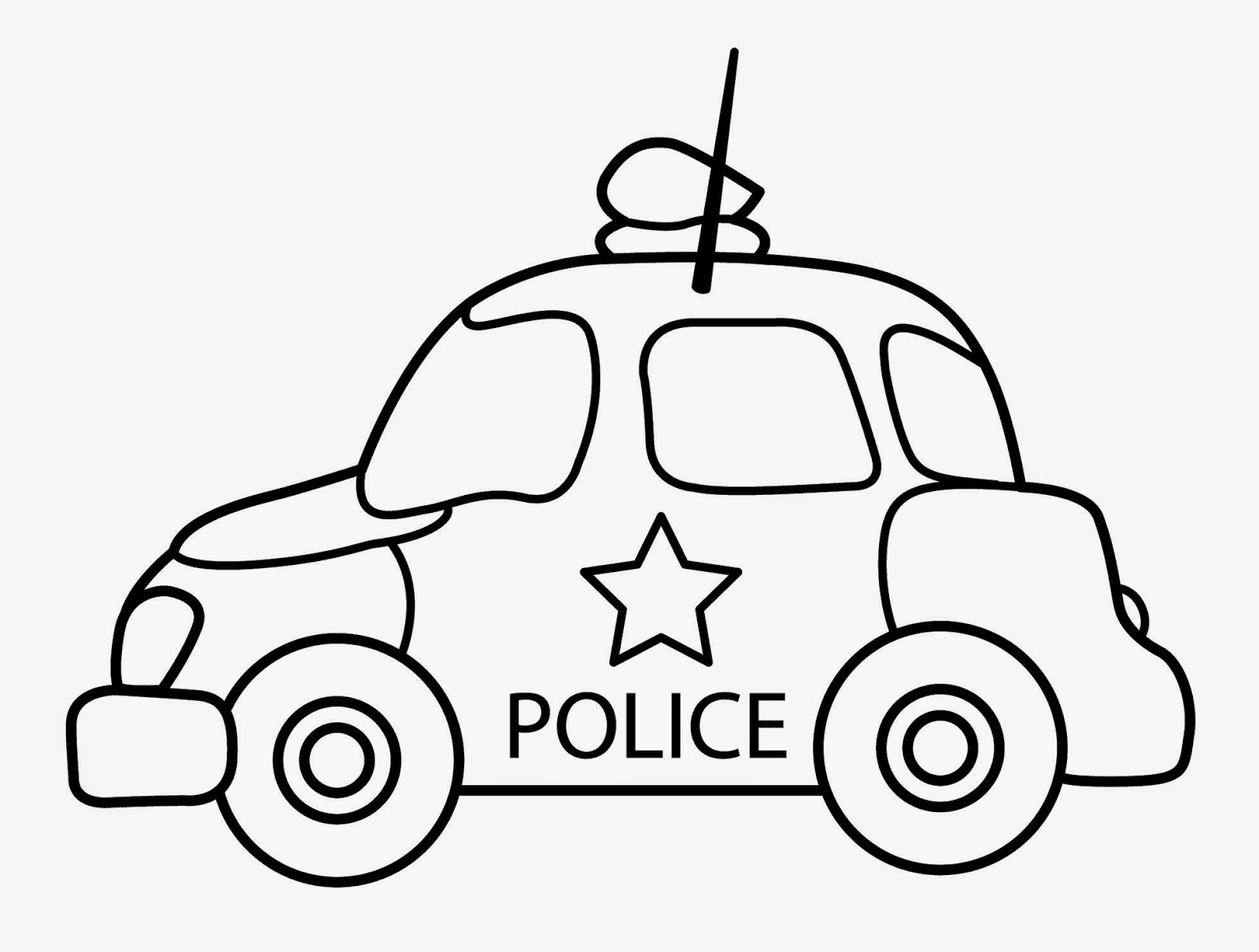 car coloring pages for kindergarten