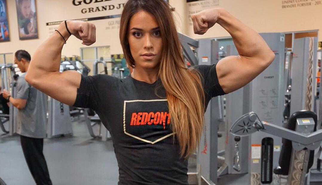 Clip Female bodybuilding fitness motivation