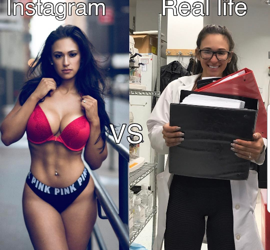 FAKE LIFE! Check Out The Real Life Of An Instagram Model On
