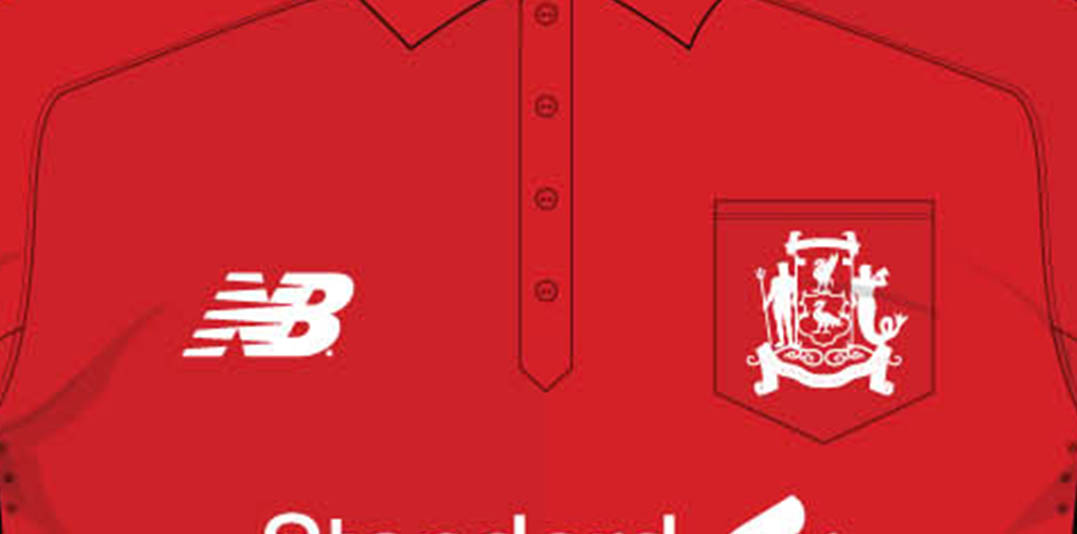 20431d4fc Liverpool s new 17-18 home kit celebrates the 125-years anniversary of the  club.