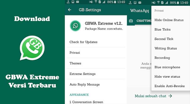 Download GBWhatsApp Extreme MOD APK Terbaru