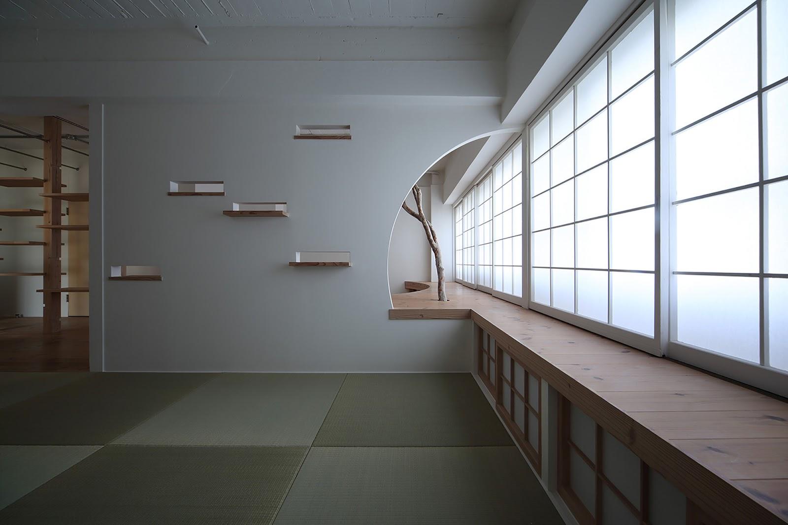 Nom D 39 Un Appartement Japonais Qui Fait Pousser Les Arbres Berenice Big