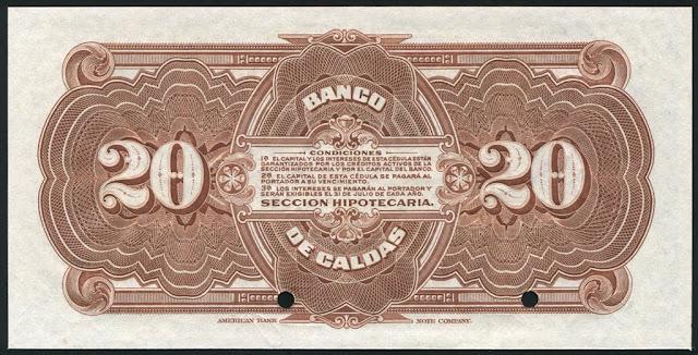 Colombia 20 Pesos