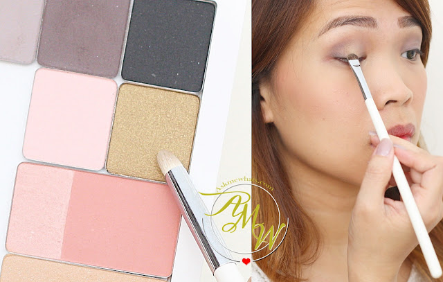 a photo of nikki tiu askmewhats wearing Inglot Eye Shadow shade 49