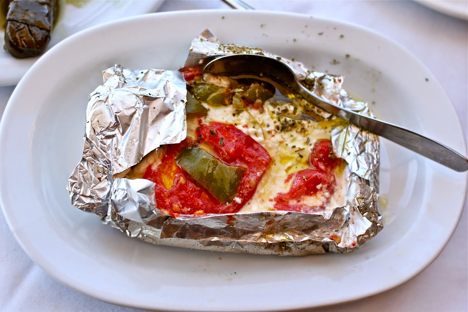 Baked feta | My 5 favorite gluten-free dishes in Greece